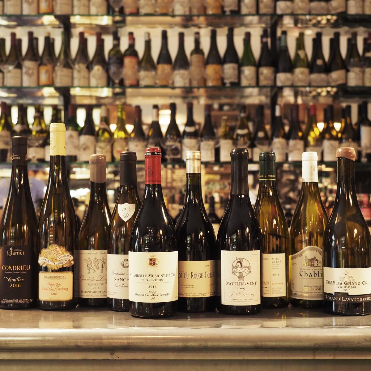 Enoteca al Risanamento vini francesi