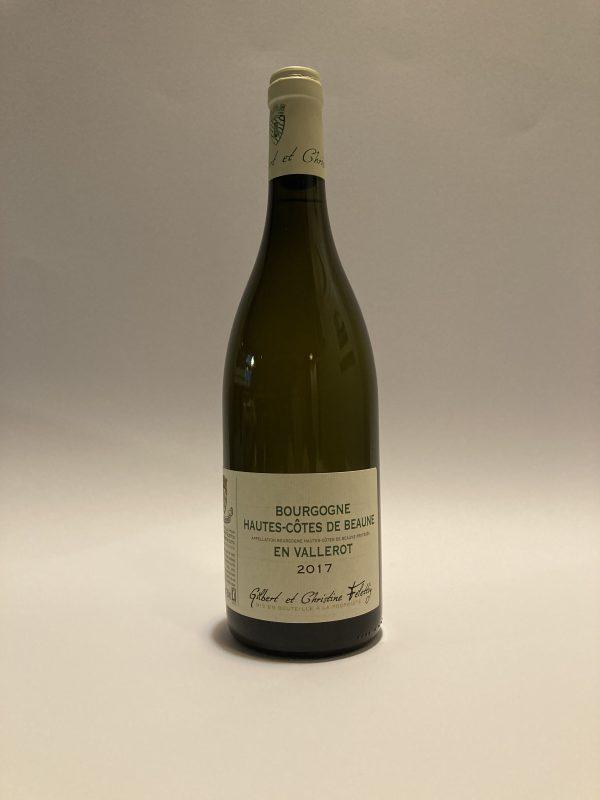 Bourgogne Hautes Cotes De Beaune Blanc En Vallerot 2017 Domaine Gilbert et Christine Felettig