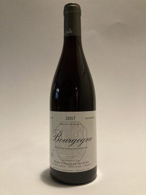 Vino rosso fermo francese della Cote d'Or, Bourgogne Rouge Marc Colin et Ses Fils