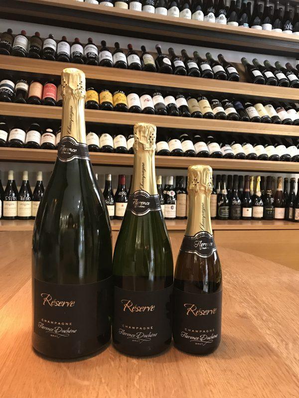 Champagne Réserve Brut Florence Duchene 3 formati