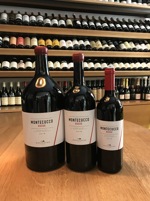 Montecucco Rosso Montenero 3 formati