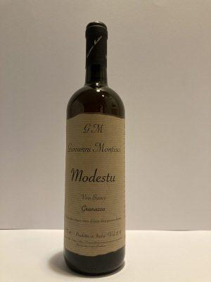Vino Bianco Modestu Granazza Giovanni Montisci