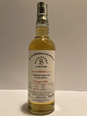 CLYNELISH Vintage 2008 11 Years Signatory