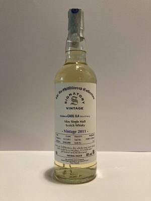 Scotch Whisky Caol Ila the signatory