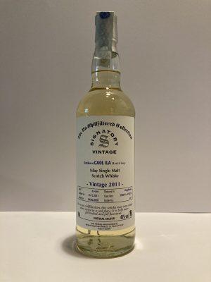 Scotch Whisky Caol Ila the signatory