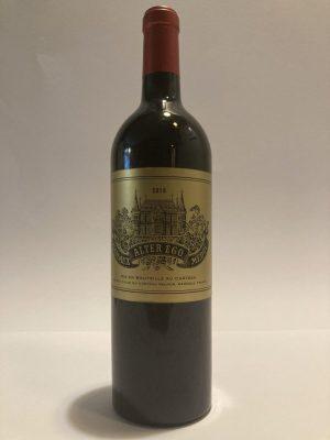 Bottiglia di vino rosso fermo francese Margaux Alter Ego de Palmer 2015 Château Palmer