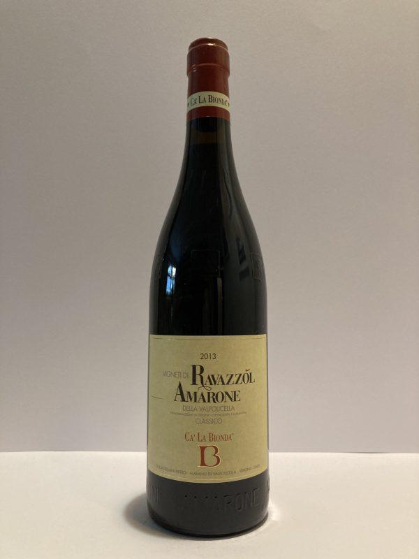 Amarone Vigneti di Ravazzol Ca' La Bionda