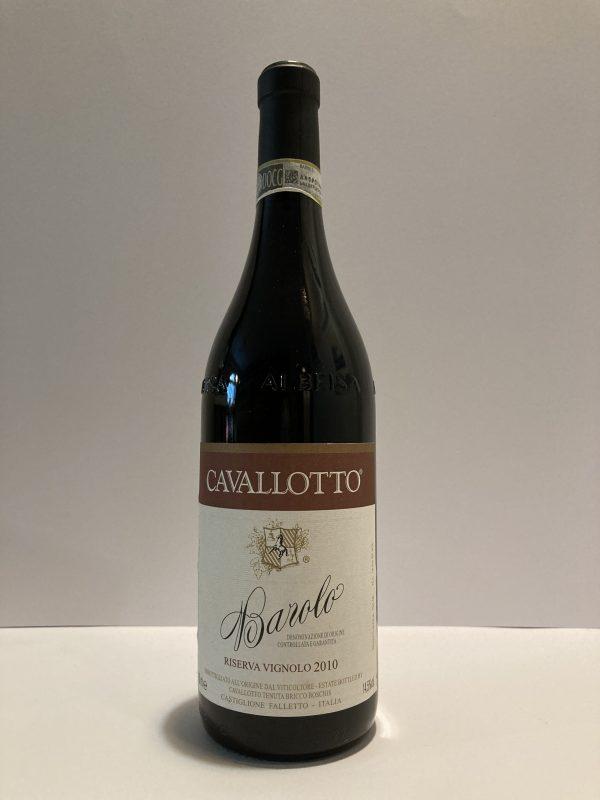 """Barolo Riserva Cru """"Vignolo"""" DOCG 2010 Cavallotto"""