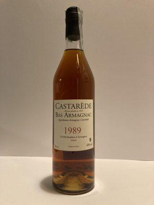 Bas Armagnac 1989 castarede
