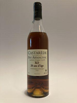 Distillato francese Bas Armagnac XO 20 ans d'âge Castarede