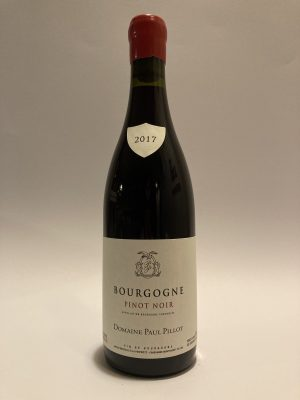 Bourgogne rouge Pinot noir Paul Pillot 2017