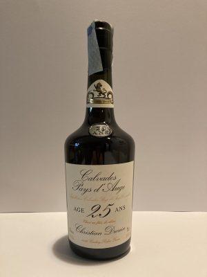 Calvados Pays D'Auge 25 Ans christian Drouin