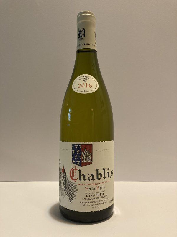 Chablis vieilles vignes Coulaudin-Bussy