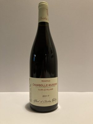 "Chambolle-Musigny Monopole 2017 ""Clos le Village"" felettig"