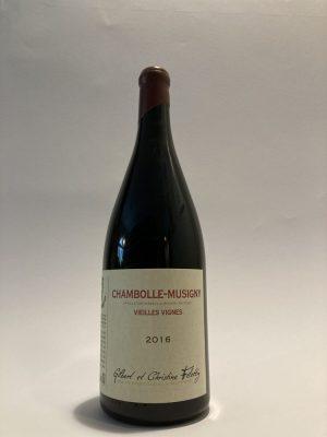 Vino rosso francese Chambolle-Musigny Vieilles Vignes Gilbert et Christine Felettig