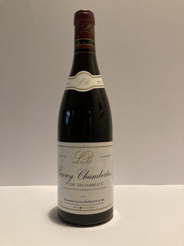 """Gevrey-Chambertin 2012 1er Cru """"Les Corbeaux"""" Lucien Boillot & Fils"""