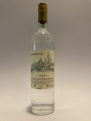 Distillato italiano Grappa Gewurztraminer Marolo