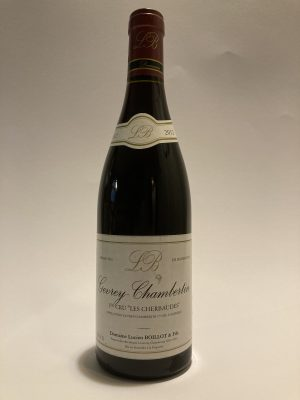 """Lucien Boillot Gevrey-Chambertin 2012 1er Cru """"Les Cherbaudes"""""""