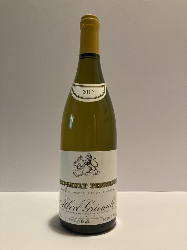 "Meursault 1er Cru ""Perrieres"" 2012 Albert Grivault"