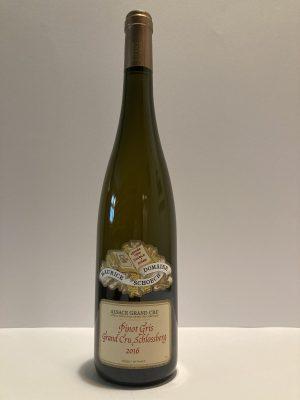 """Pinot Gris Grand Cru """"Schlossberg"""" 2016 Maurice Schoech"""