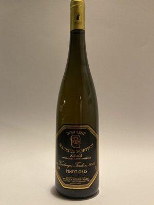Pinot gris Vendages Tardives 2015 Maurice Schoech