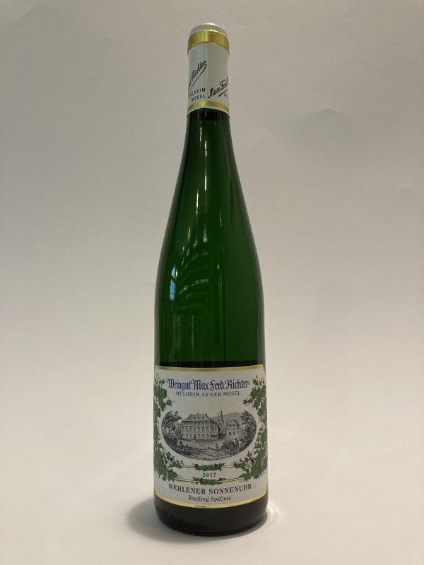 Vino bianco tedesco Riesling Spätlese Wehlener Sonnenuhr 2017 Weingut Max Ferd. Richter