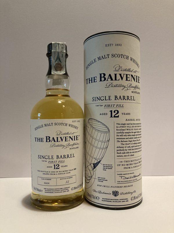 The Balvenie Single barrel 12 years
