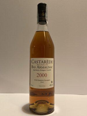 castarede Bas armagnac 2000