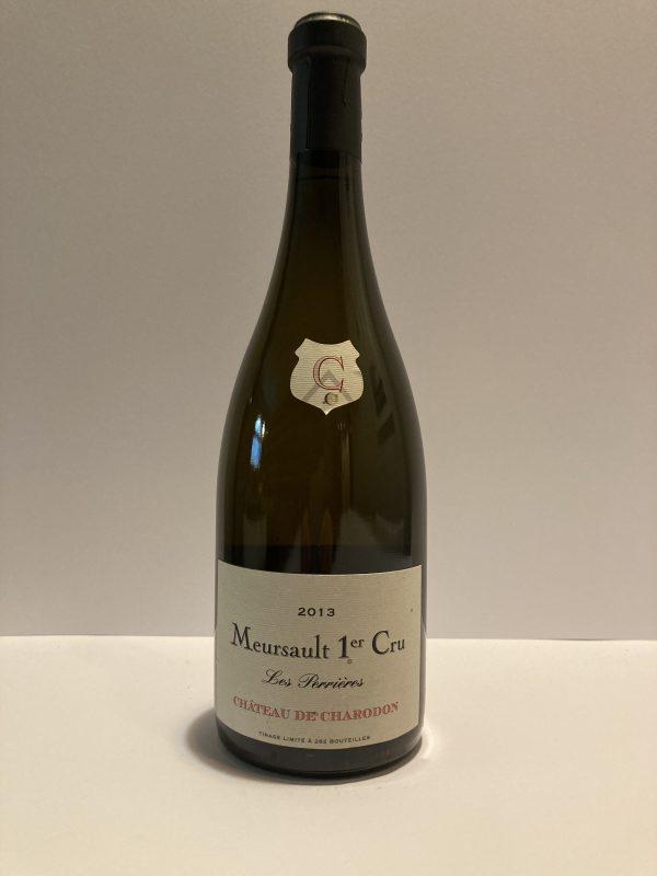 """Meursault 1er Cru """"Perrieres"""" 2013 Château de Charodon"""