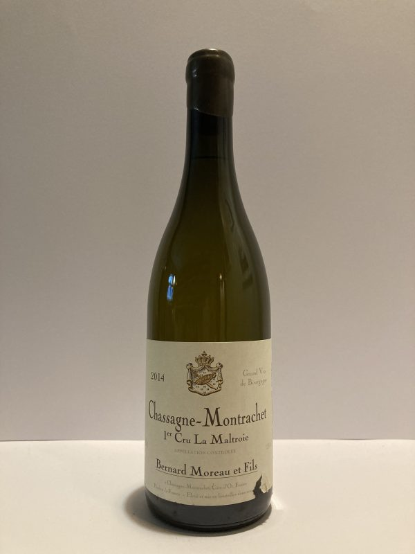 "Chassagne-Montrachet 1er Cru 2014 ""La Maltroie"" Bernard Moreau & Fils"