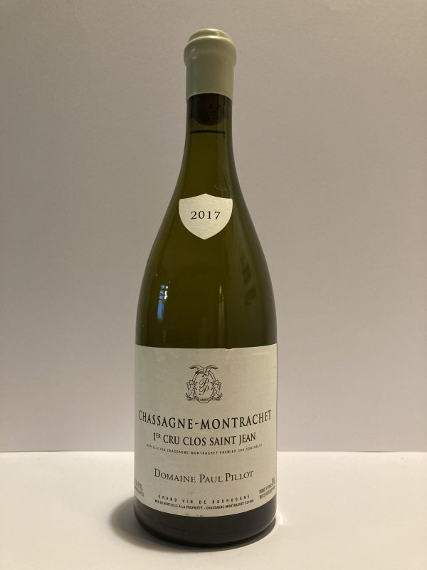 "Chassagne-Montrachet 1er Cru 2017 ""Clos St. Jean"" Paul Pillot"
