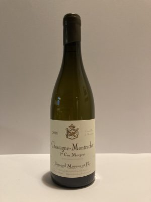 "Chassagne-Montrachet 1er Cru 2018 ""Les Morgeot"" Bernard moreau"