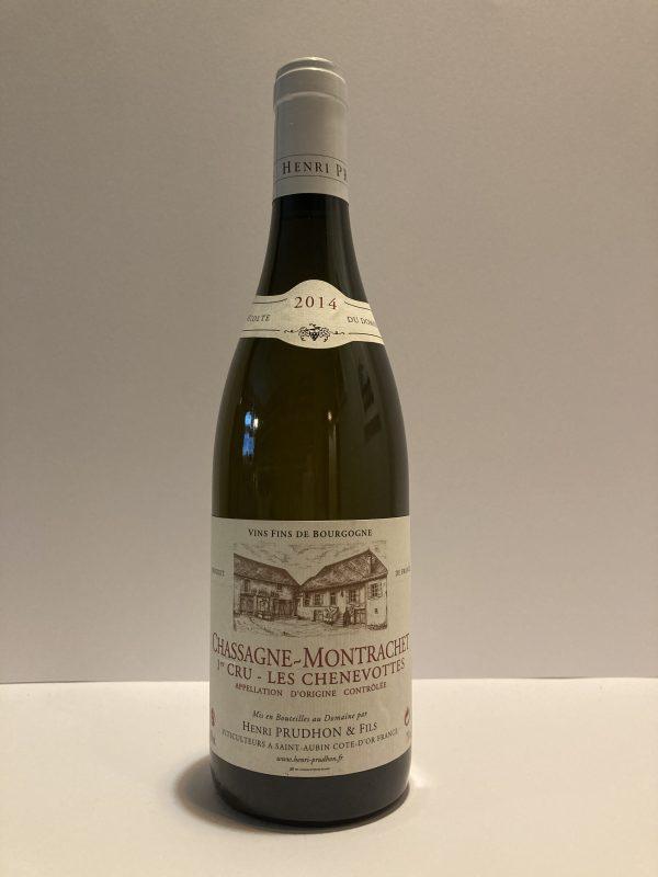 "Chassagne-Montrachet 1er Cru ""Chenevottes"" 2014 Henry-Prudhon & Fils"