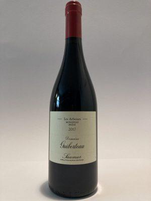 vino_rosso_loira_cabernet_franc_Guiberteau Saumur Rouge_Les Arboises_Monopole_Brézé