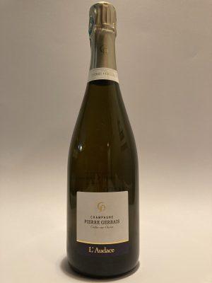 """Pierre Gerbais Champagne Extra Brut """"L'Audace"""" 2016"""