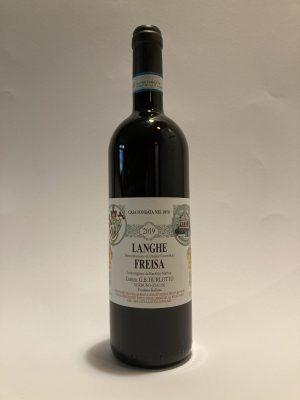 Vino fermo rosso piemontese Langhe Freisa 2019 Burlotto