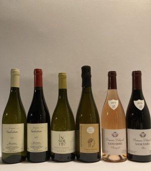 Box 6 bottiglie vino francese della Loira