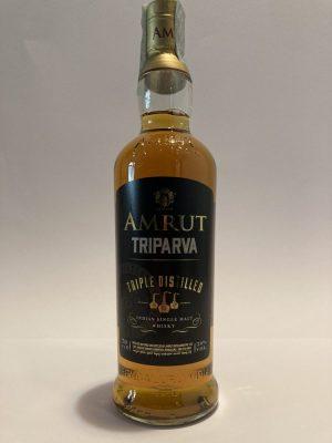 """Indian Single Malt Whisky """"TRIPARVA"""" Triple Distilled, Amrut"""