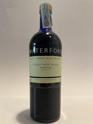 "Irish Single Malt Whisky - Single Farm Origin ""SHEESTOWN"" Edition 1.2, Waterford"