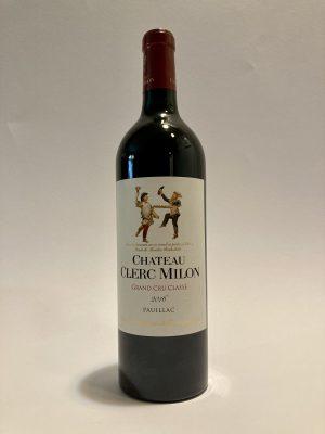 vino_rosso_francese_bordeaux_Château_Clerc_Milon_pauillac