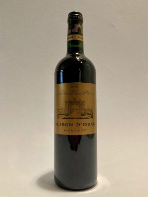Vino_rosso_francese_bordeaux_Chateau_d'issan_Blason_d'Issan