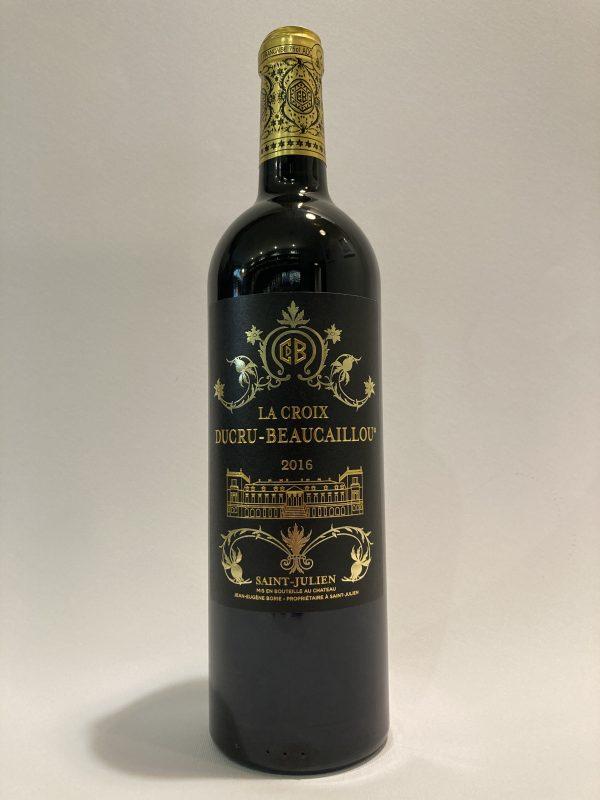 vino_rosso_francese_bordeaux_Saint_Julien_Chateau_la_croix_Ducru_Beaucaillou