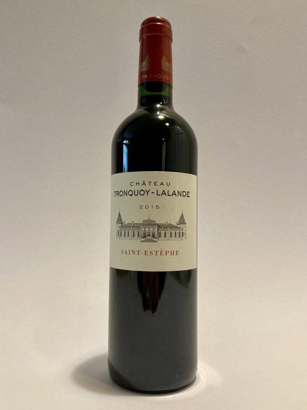 vino_rosso_francese_Chateau_tronquoy_Lalande_Saint_Estephe