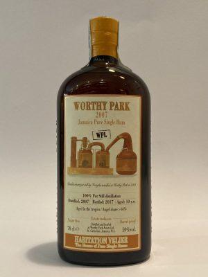 Jamaica_Pure_Single_Rum_WORTHY_PARK_2007