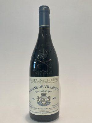 vino_rosso_francese_valle del rodano_Domaine de Villeneuve_Chateauneuf-du-Pape_Les Vieilles Vignes