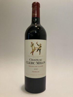 vino_rosso_francese_bordeaux_Pauillac_Grand_Cru_Classé_Chateau_clerc_millot