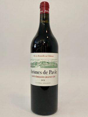vino_rosso_francese_bordeaux_Saint_Émilion_Arômes_de_Pavie_Grand_Cru_Château_Pavie