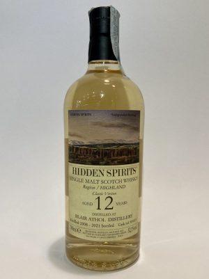 "Hidden Spirits Single_Malt_Scotch_Whisky_HIGHLAND_BLAIR_ATHOL_""Classic_Version_2008"
