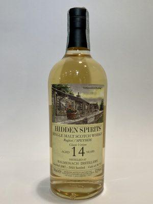Single_Malt_Scotch_Whisky_SPEYSIDE_ BALMENACH_DISTILLERY_Classic Version_2007_14 yo, Hidden Spirits