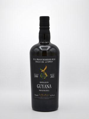 hidden spirits_Full Proof_Demerara_Rum_Single_Cask_THE WILD PARROT_1999/2021_Distilled in Guyana